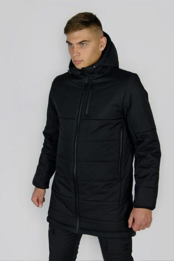 """Демисезонная Куртка """"Fusion"""" Intruder черно-серая"""