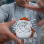 Свитшот Intruder новогодний серый
