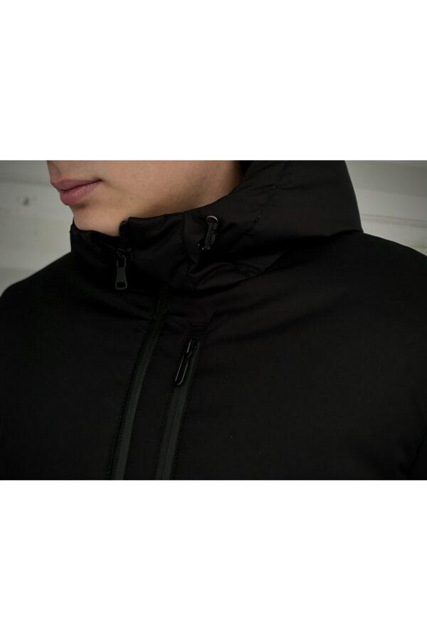 """Демисезонная Куртка """"Fusion"""" Intruder черная"""