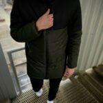 """Демисезонная Куртка """"Fusion"""" Intruder хаки - черная"""