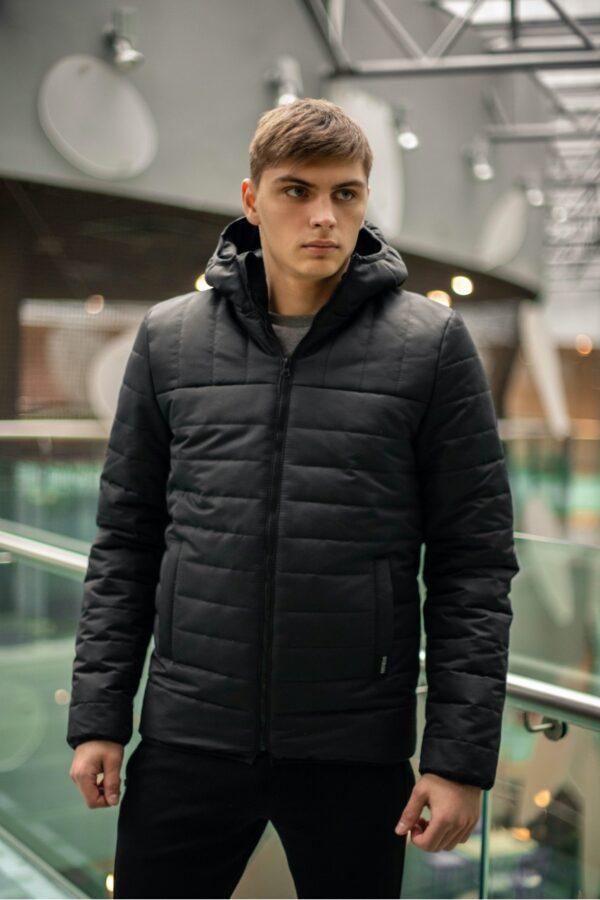 """Демисезонная Куртка """"Temp"""" Intruder черная"""