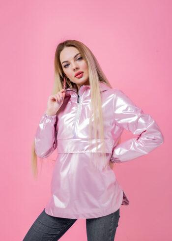 Анорак женский Unique розовый