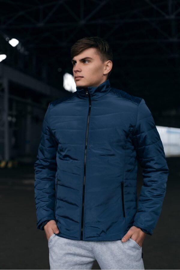 Весенняя куртка пуховик Memoru Intruder синяя