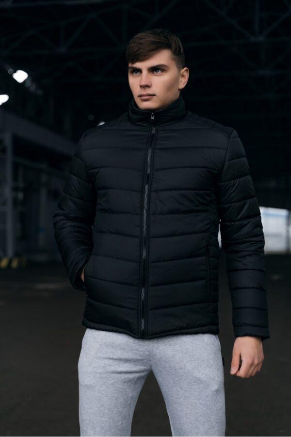 Весенняя куртка пуховик Memoru Intruder черная