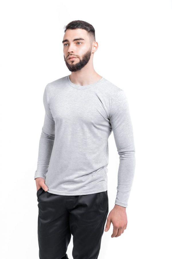 Лонгслив 'Pulse' Intruder Brand серый