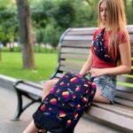 Поясная сумка Likee Мужская | Женская | Детская лайк синяя