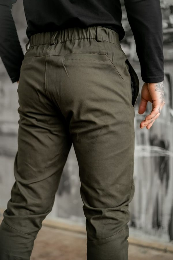 Мужские Коттоновые штаны Strider серые