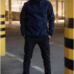 Костюм Intruder Softshell Walkman демисезонный сине-черный