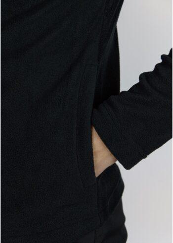 Флисовая кофта Intruder черная