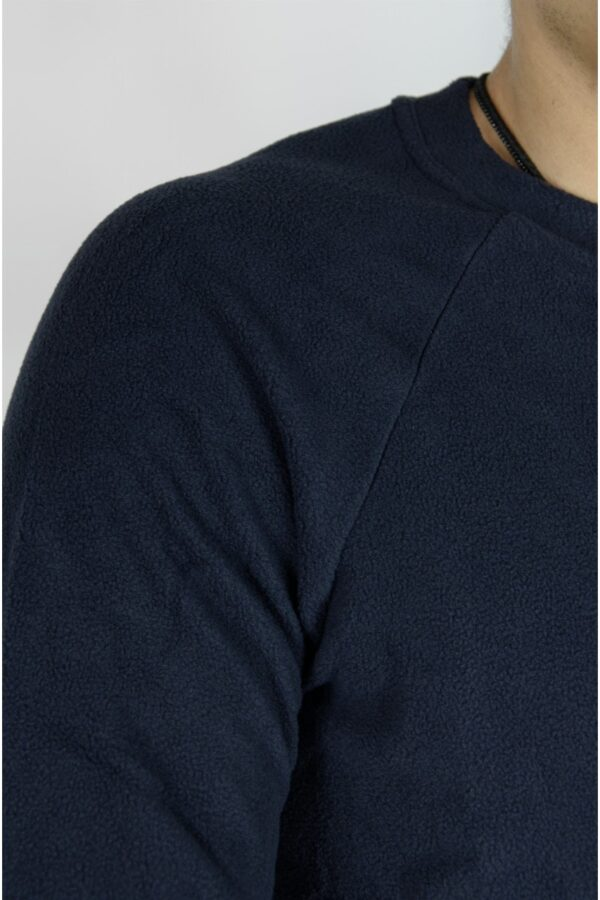 Флисовый свитшот Intruder синий