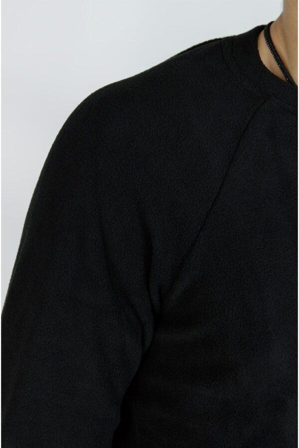 Флисовый свитшот Intruder черный