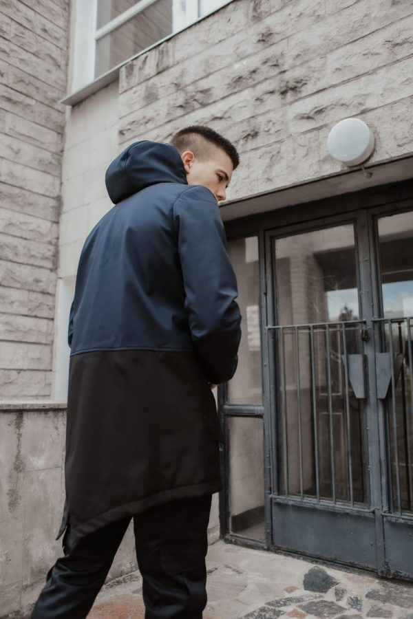 """Куртка Softshell """"Citizen"""" Intruder демисезонная серо-черная"""