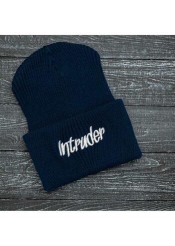 """Шапка """" Intruder """" Big logo синяя"""