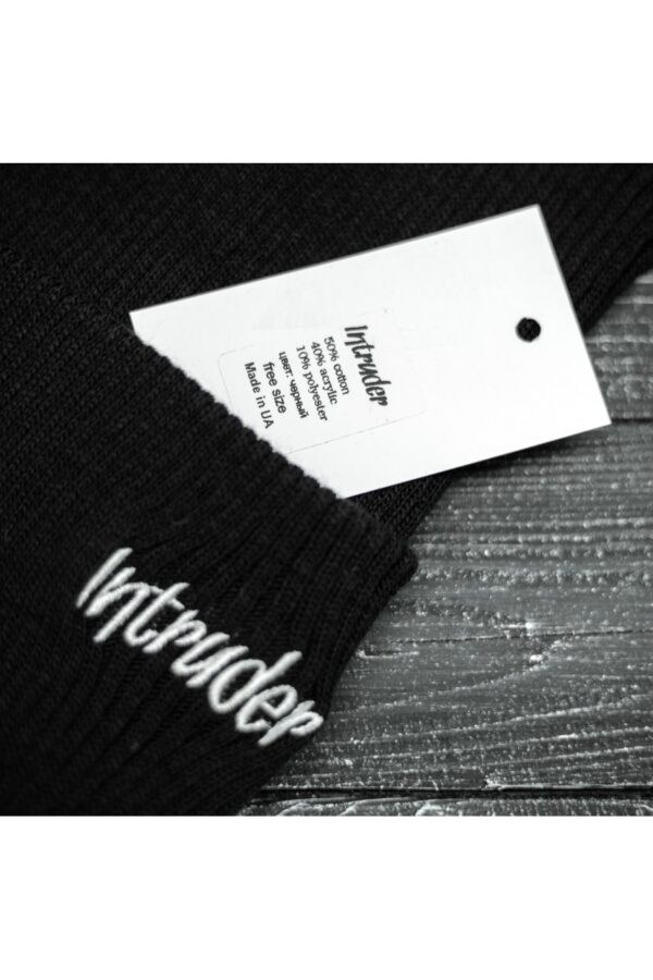 "Шапка "" Intruder "" Small logo черная"