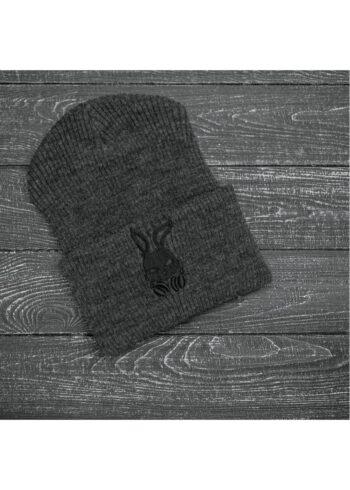 """Шапка """" Intruder """" Bunny logo серая"""