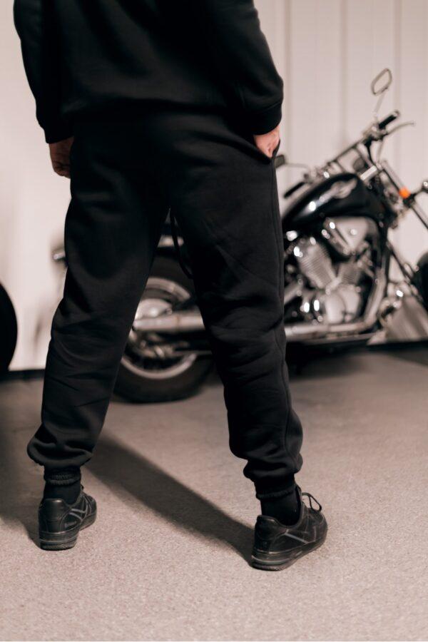 Костюм мужской теплый Intruder Oversize (Худи+штаны) черный