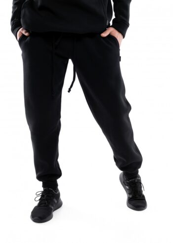 Штаны мужские на флисе Intruder Oversize черные