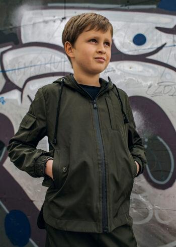Детский костюм Softshell Easy Intruder хаки
