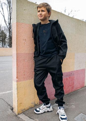 Детский костюм Softshell Easy Intruder черный