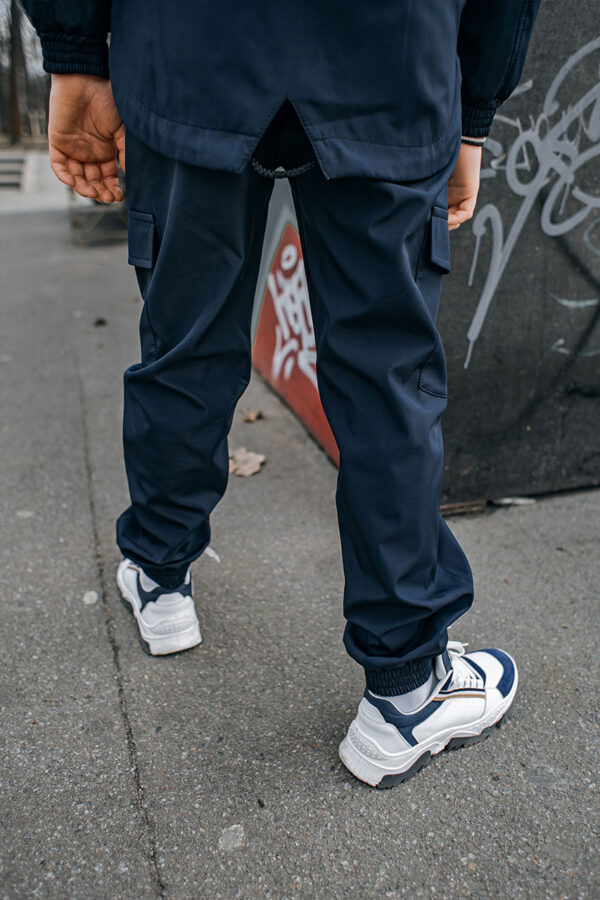 Детские штаны Softshell Easy Intruder синие