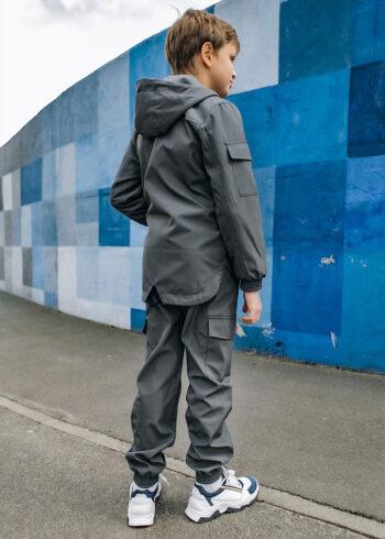Детский костюм Softshell Easy Intruder серый