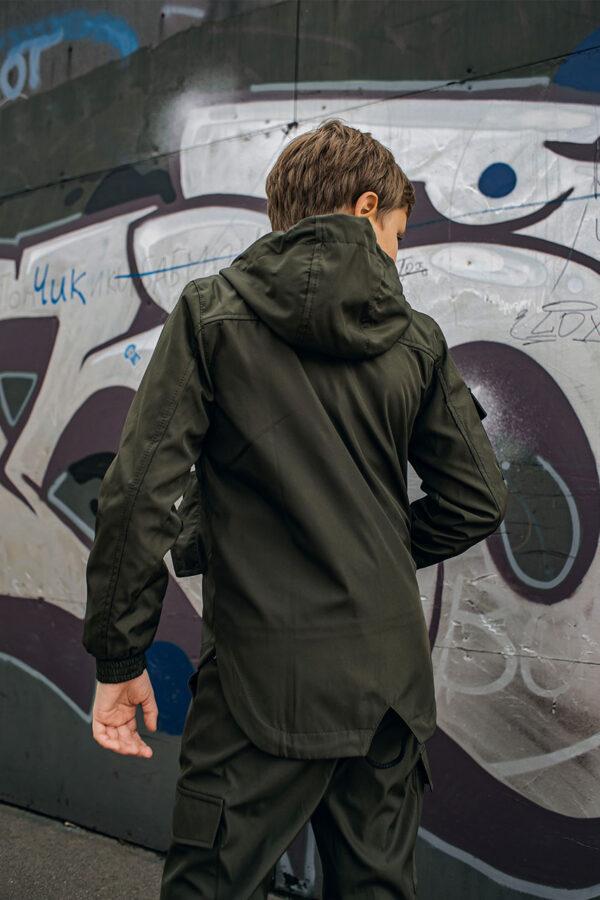 Детская куртка Softshell Easy Intruder хаки