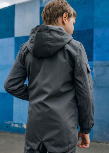 Детская куртка Softshell Easy Intruder серая