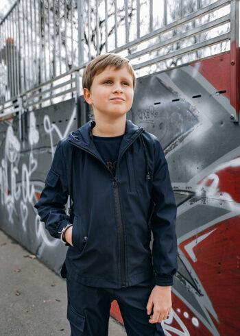 Детская куртка Softshell Easy Intruder синяя