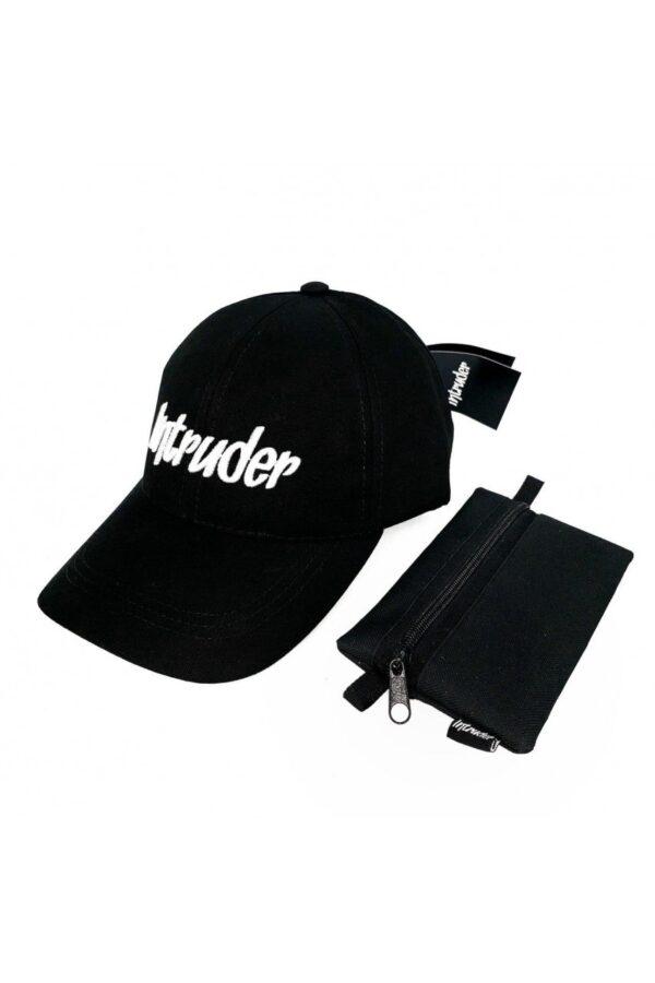Кепка Intruder черная big logo