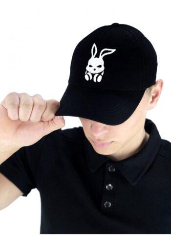 Кепка Intruder черная bunny logo