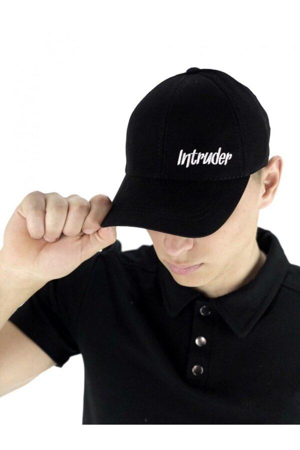 Кепка Intruder черная small logo