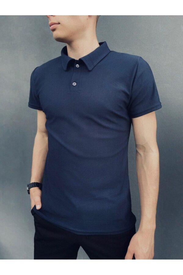 Комплект LaCosta Intruder футболка поло + шорты трикотажные + Кепка ( сине-черный )