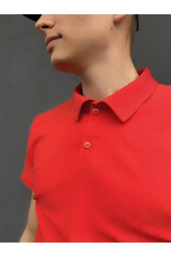 Комплект LaCosta Intruder футболка поло + шорты трикотажные + Кепка ( красно-черный )