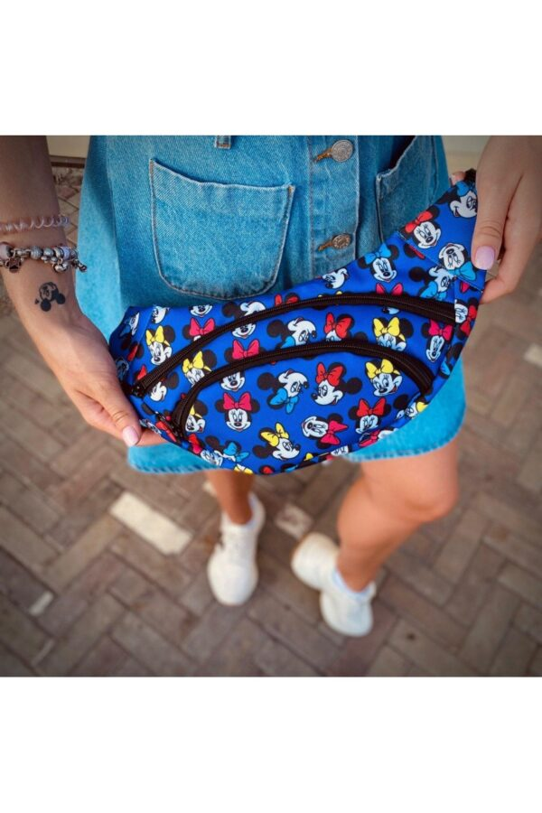 Бананка Mickey Mouse Мужская | Женская | Детская синяя
