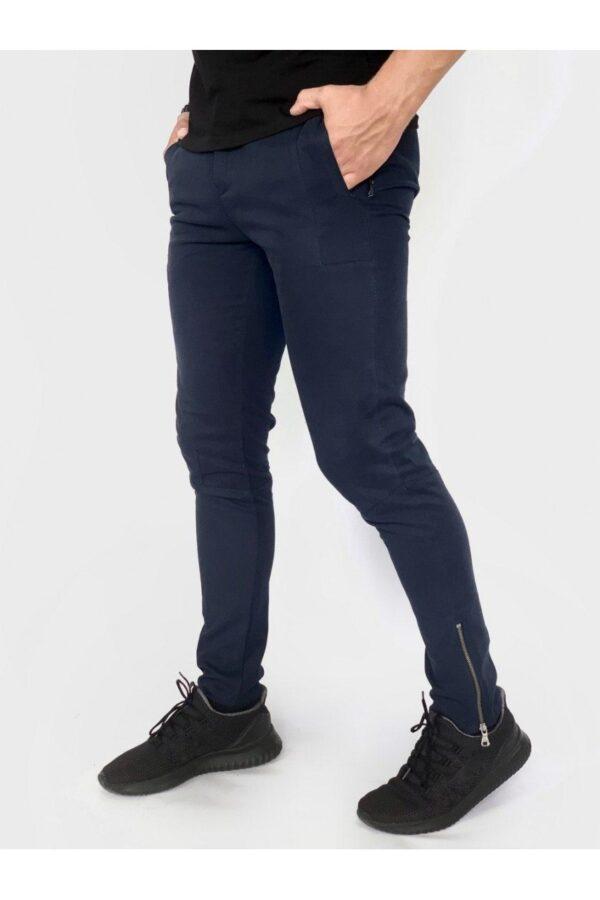Мужские Коттоновые штаны Strider синие