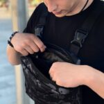 Нагрудная сумка Intruder Camouflage