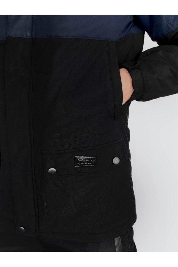 Демисезонная Куртка Waterproof Intruder (сине - черная)