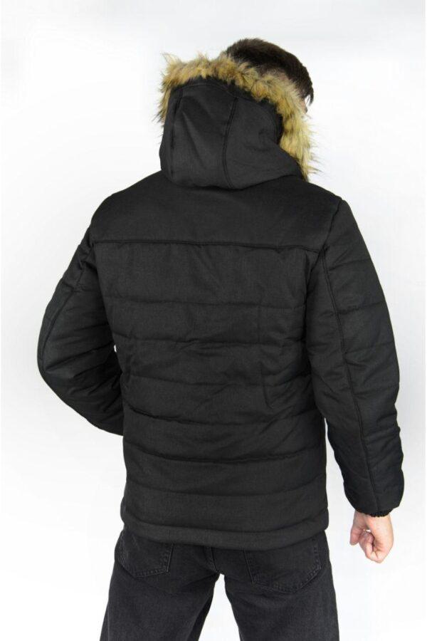 Зимняя куртка Alaska Intruder черная