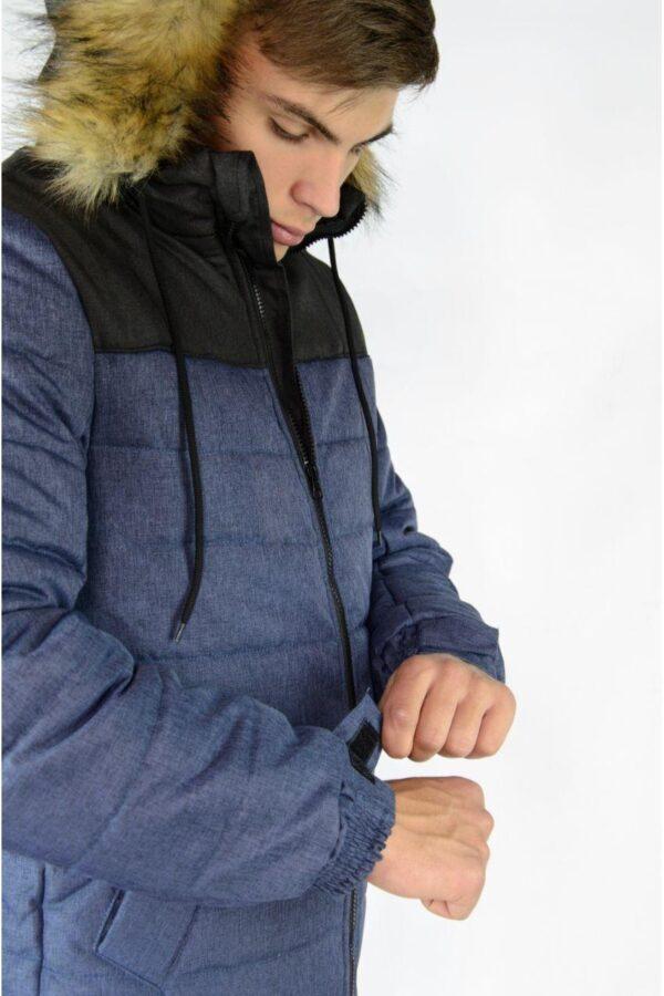 Зимняя куртка Alaska Intruder сине - черная