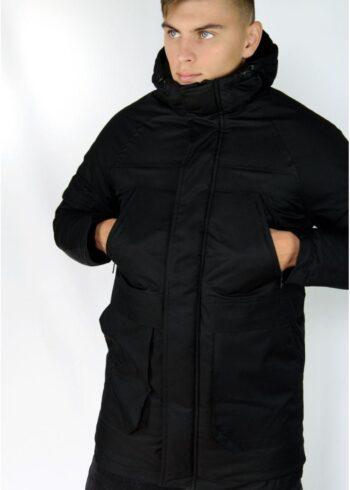Зимняя парка Arctic Intruder черная