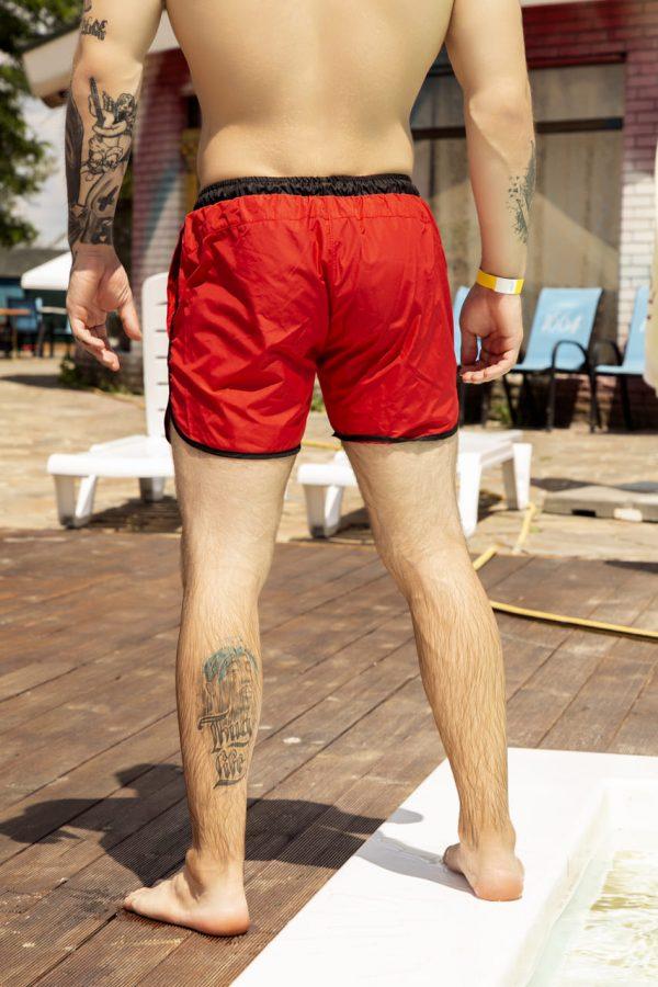 """Мужские пляжные шорты Intruder """"Breeze"""" зеленый камуфляж"""